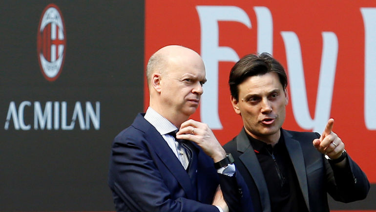 Марко ФАССОНЕ (слева) и Винченцо МОНТЕЛЛА. Фото AFP