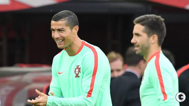 Сегодня. Москва. Тренировка сборной Португалии. Криштиану РОНАЛДУ.