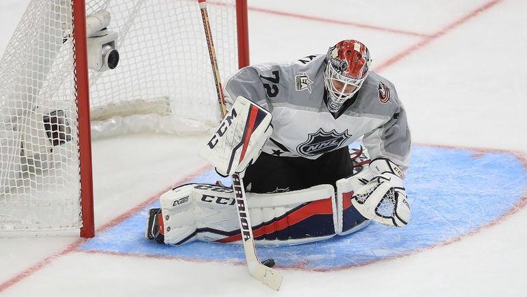30 января. Сергей БОБРОВСКИЙ во время Матча звезд НХЛ. Фото AFP