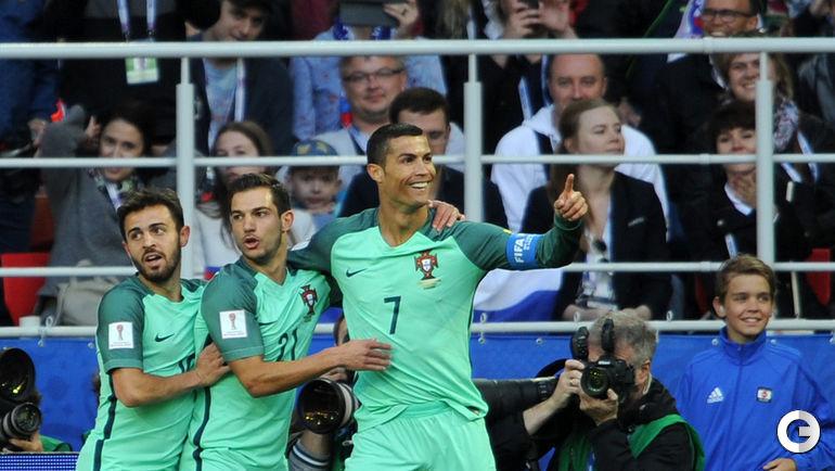 Сегодня. Москва. Россия – Португалия – 0:1.