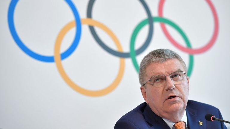 Президент Международного олимпийского комитета Ричард БАХ. Фото AFP