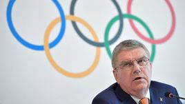 Президент Международного олимпийского комитета Ричард БАХ.