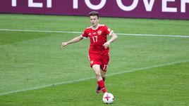 Среда. Москва. Россия - Португалия - 0:1. Александр ГОЛОВИН.