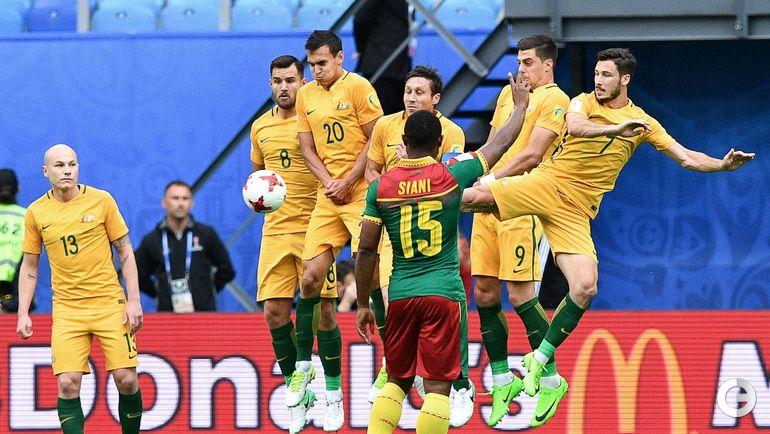 Четверг. Санкт-Петербург. Камерун – Австралия – 1:1.