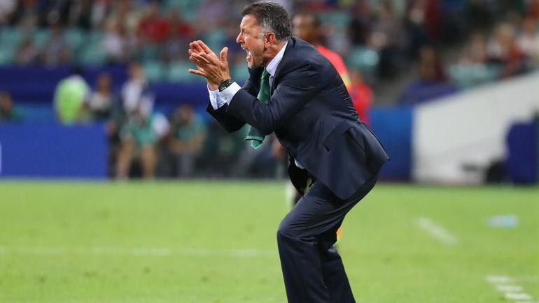 Главный тренер сборной Мексики Хуан Карлос ОСОРИО. Фото Reuters