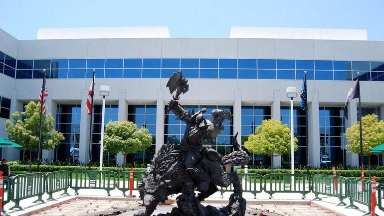 Офис Blizzard.