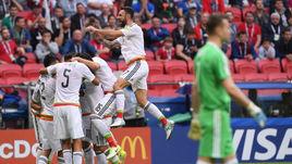 Сегодня. Казань. Мексика - Россия - 2:1.