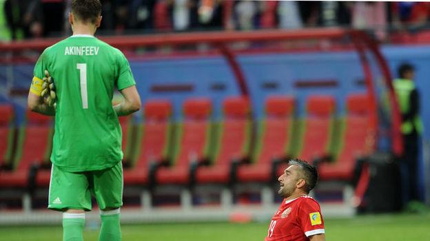 Александр САМЕДОВ (справа) и Игорь АКИНФЕЕВ. Фото Александр ФЕДОРОВ, «СЭ»