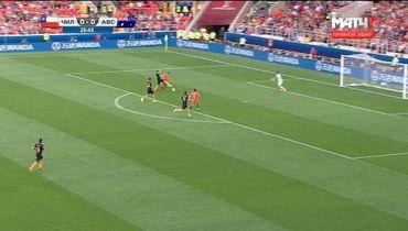 Арбитр правильно не назначил пенальти в пользу Чили