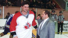 Андрей МАРТЕМЬЯНОВ (слева) провел один матч в форме сборной Канады.