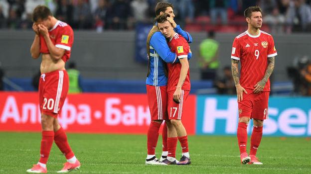 Мексиканцы считают, что победив сборную России, нанесли серьезный удар по имиджу нашей команды. Фото Александр ФЕДОРОВ, «СЭ»