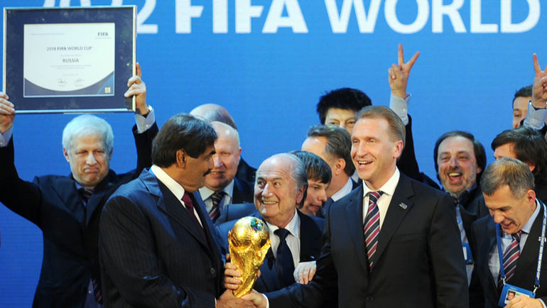 Право Проведения Чемпионата Мира 2018