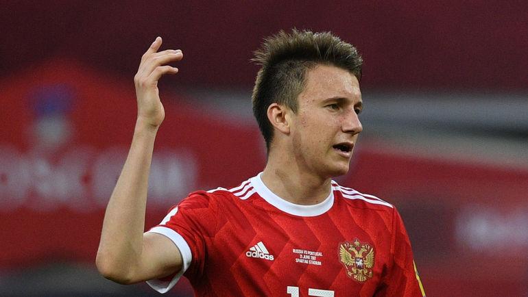 Александр ГОЛОВИН был одним из лучших в составе сборной России на Кубке конфедераций. Фото Дарья ИСАЕВА, «СЭ»