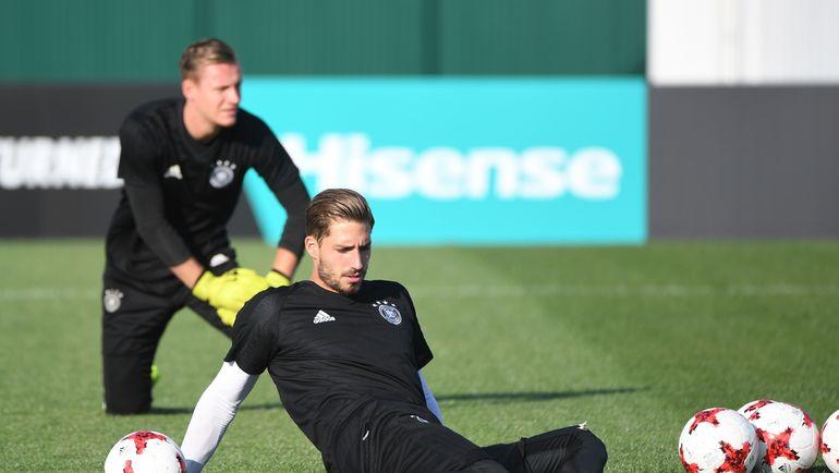 Среда. Сочи. Предматчевая тренировка сборной Германии. Фото AFP