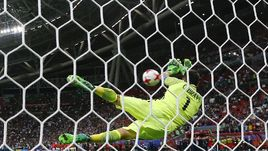 Сегодня. Казань. Португалия - Чили - 0:0, пенальти - 0:3. Клаудио БРАВО: три сэйва после трех ударов!
