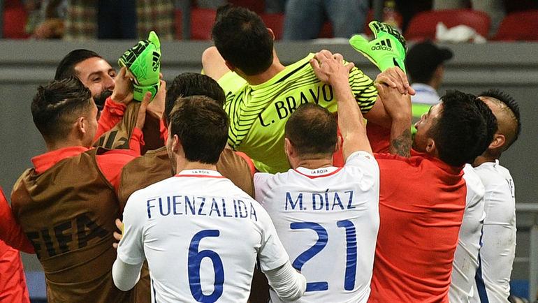 что футбол финал португалия чили репортаж лучшие