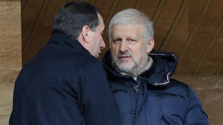Евгений ГИНЕР и Сергей ФУРСЕНКО. Фото Татьяна ДОРОГУТИНА