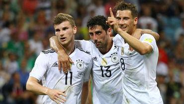 Германия разгромила Мексику и вышла в финал Кубка конфедераций