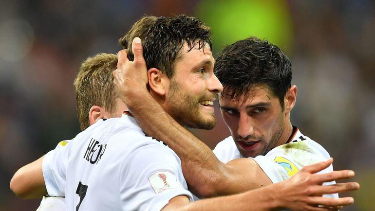 Четверг. Сочи. Германия – Мексика – 4:1. Немцы вышли в финал Кубка конфедераций. Фото AFP