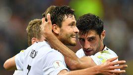 Четверг. Сочи. Германия – Мексика – 4:1. Немцы вышли в финал Кубка конфедераций.