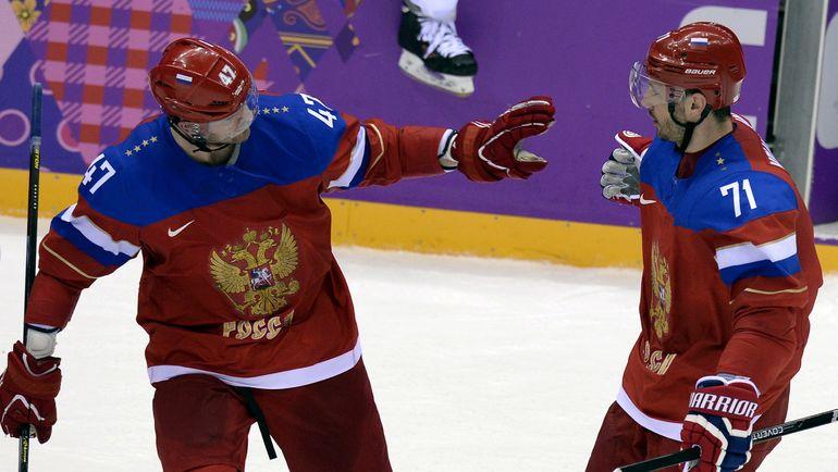 Александр РАДУЛОВ и Илья КОВАЛЬЧУК. Фото REUTERS