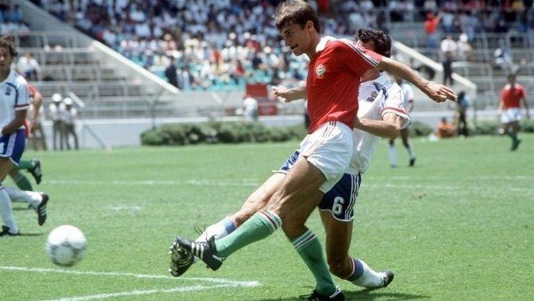 Один из венгерских талантов, Кальман КОВАЧ (фото чемпионата мира-1986), вместе со своей командой лишил СССР победы на домашнем юниорском Euro-1984. Фото uefa.com