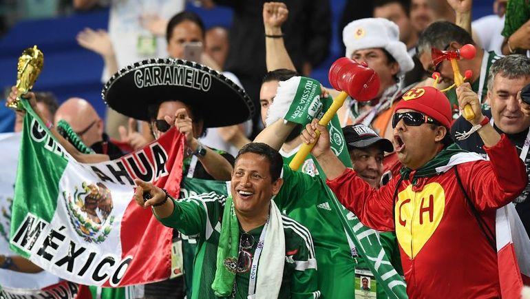 Мексиканские болельщики точно не дадут вам заскучать. Фото AFP