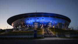 """Стадион """"Санкт-Петербург"""". 2 июля здесь пройдет финал нашего Кубка конфедераций."""