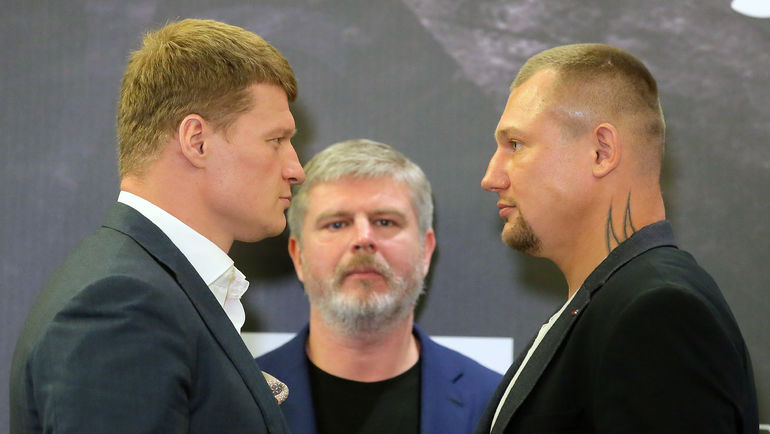 Александр ПОВЕТКИН (слева) и Андрей РУДЕНКО (справа). Фото Алексей ИВАНОВ, «СЭ»