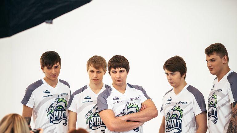 Состав Team Spirit по Dota 2. Фото Team Spirit.