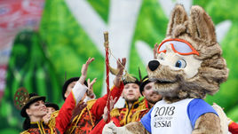 Сегодня. Санкт-Петербург. Церемония закрытия Кубка конфедераций.