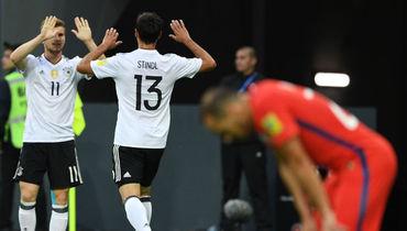 Германия победила Чили в финале Кубка конфедераций
