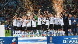 Воскресенье. Санкт-Петербург. Чили - Германия - 0:1. Кубок конфедераций - в руках у Германии.