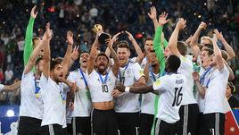 Воскресенье. Санкт-Петербург. Чили - Германия - 0:1. Немцы - обладатели Кубка конфедераций-2017.
