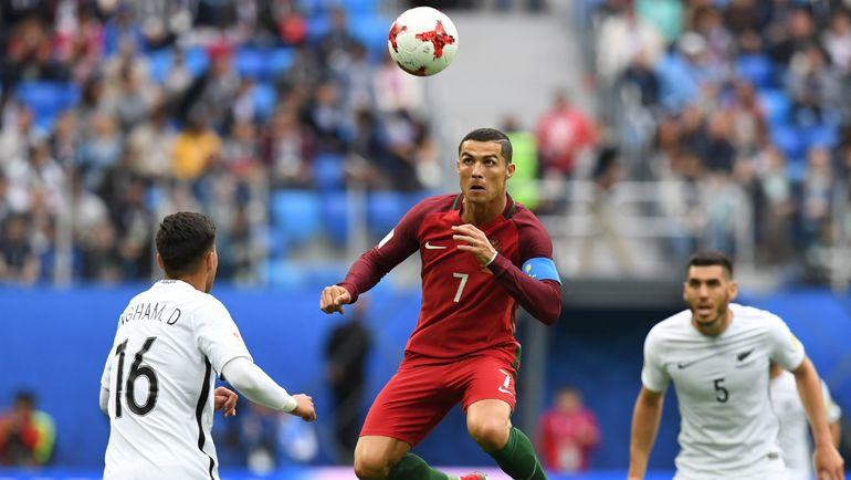 24 июня. Санкт-Петербург. Новая Зеландия - Португалия - 0:4. В игре КРИШТИАНУ РОНАЛДУ. Фото AFP