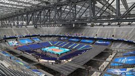 """Арена да Байшада"" в Куритибе, где пройдут матчи финала Мировой лиги."