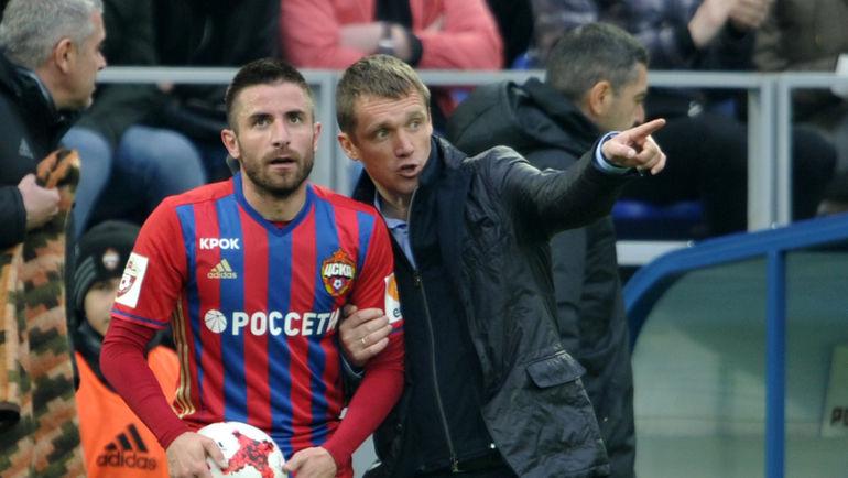 """Зоран ТОШИЧ (слева) и Виктор ГОНЧАРЕНКО. Фото Алексей ИВАНОВ, """"СЭ"""""""