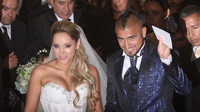 Артуро видаль с женой