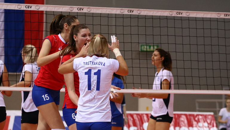 Российские волейболистки сегодня стартуют в одном из самых престижных  турниров для сборных команд. Фото CEV