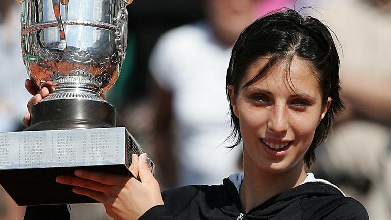 2004 год. Анастасия МЫСКИНА - победительница Roland Garros.