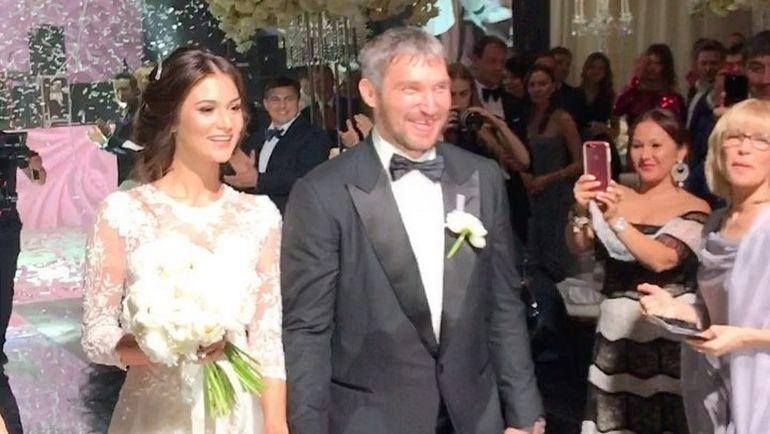 Анастасия ШУБСКАЯ и Александр ОВЕЧКИН. Фото instagram.com