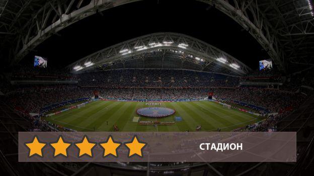 "Стадиону ""Фишт"" - пять звезд. Фото «СЭ»"