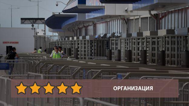 Организация Кубка конфедераций в Сочи - пять звезд. Фото «СЭ»