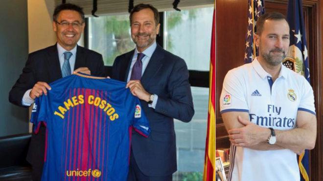 """Джеймс КОСТОС заключил соглашение с """"Барселоной"""". Фото Marca"""