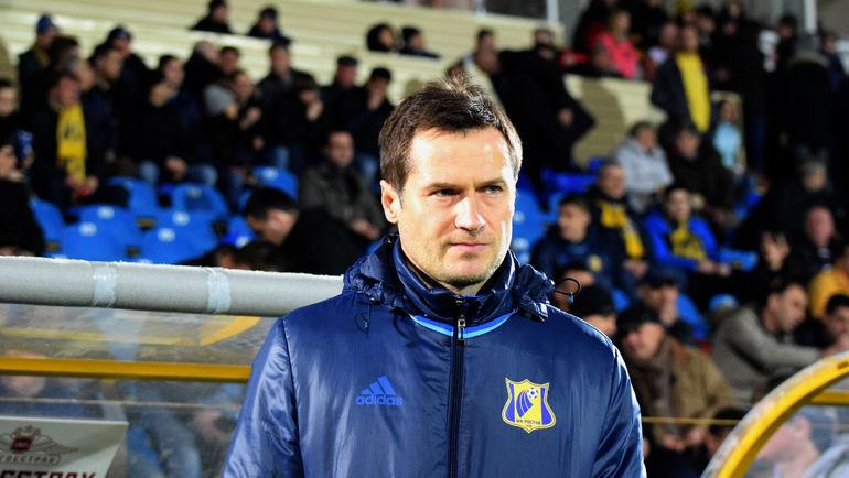 Дмитрий КИРИЧЕНКО остался в команде. Фото Григорий БОЧКАРЕВ