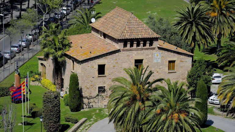 """Историческое здание """"Ла Масии"""" в Барселоне. Фото AFP"""