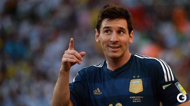 13 июля 2014 года. Рио-де-Жанейро. Германия - Аргентина - 1:0 д.в. Лионель МЕССИ. Фото AFP