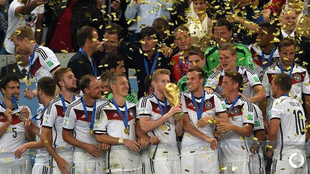 13 июля 2014 года. Рио-де-Жанейро. Германия - Аргентина - 1:0 дв. Фото AFP
