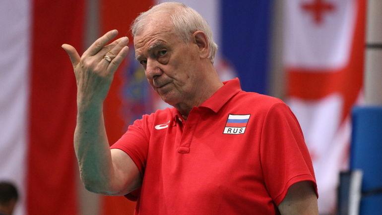 Владимир КУЗЮТКИН. Фото CEV