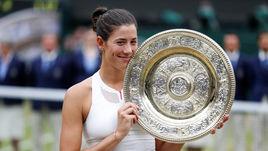 Мугуруса победила Винус Уильямс и впервые в карьере выиграла Уимблдон